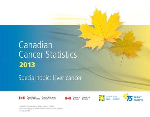 Canadian Cancer Statistics 2013 has been released. #CancerStats