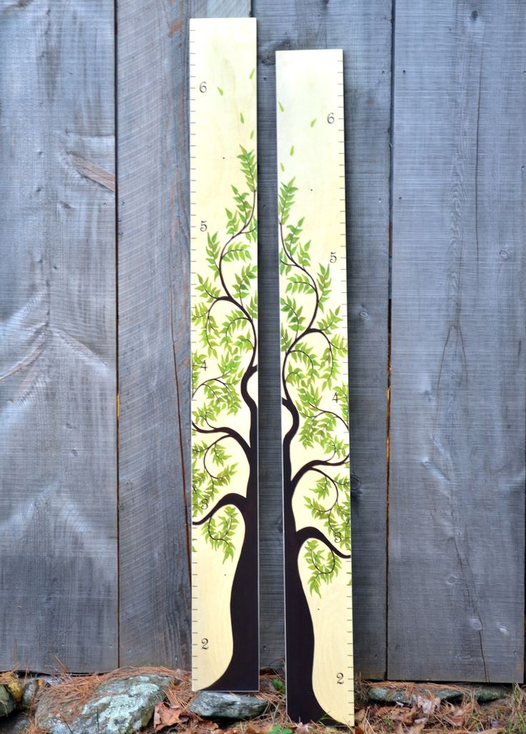Growth Chart Art - Tree of Life Wooden Growth Chart Pair for Siblings, Twins| Wood Height Charts | Natural Birch, $125.00 (https://www.growthchartart.com/tree-of-life-wooden-growth-chart-pair-for-siblings-twins-wood-height-charts-natural-birch/)