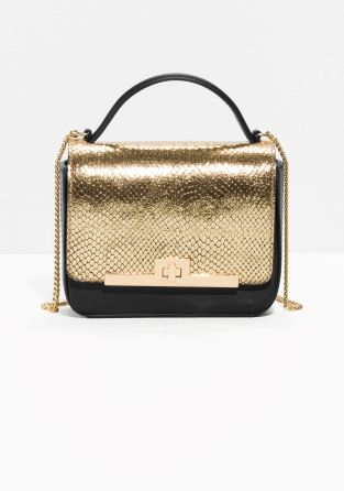 & Other Stories   Fish Scale Chain Bag