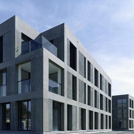 Max Dudler — Zentrumsüberbauung Rosengarten, Arbon