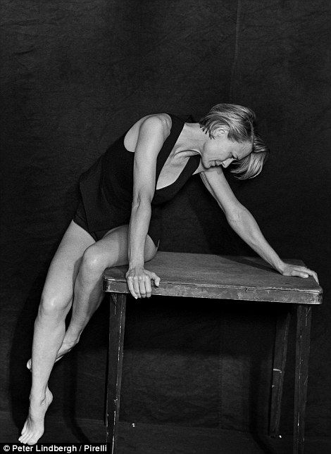 ... Robin Wright also stars in the annual calendar...