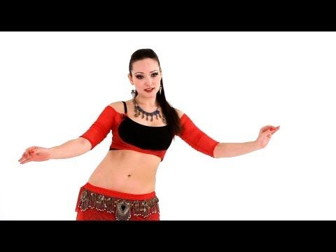 How to Do a Figure 8 with a Twist | Belly Dance - YouTube