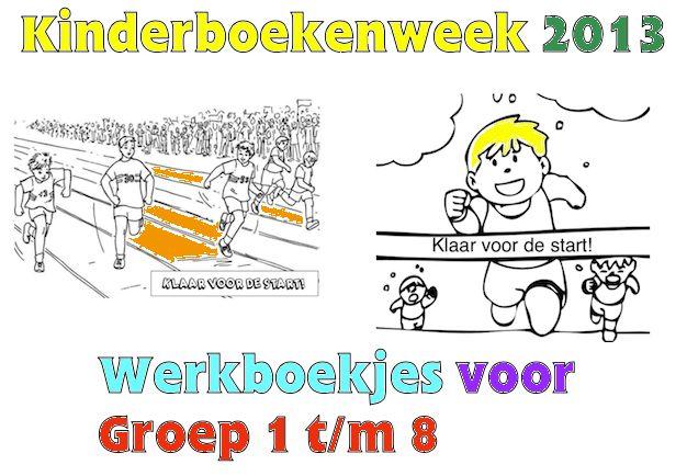 Kinderboekenweek 2013 - Werkboekjes voor Groep 1 t/m 8! Klik op de afbeelding!