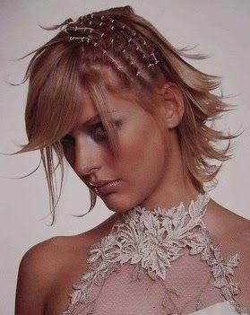 mujer estilo y belleza peinados de novia pelo corto