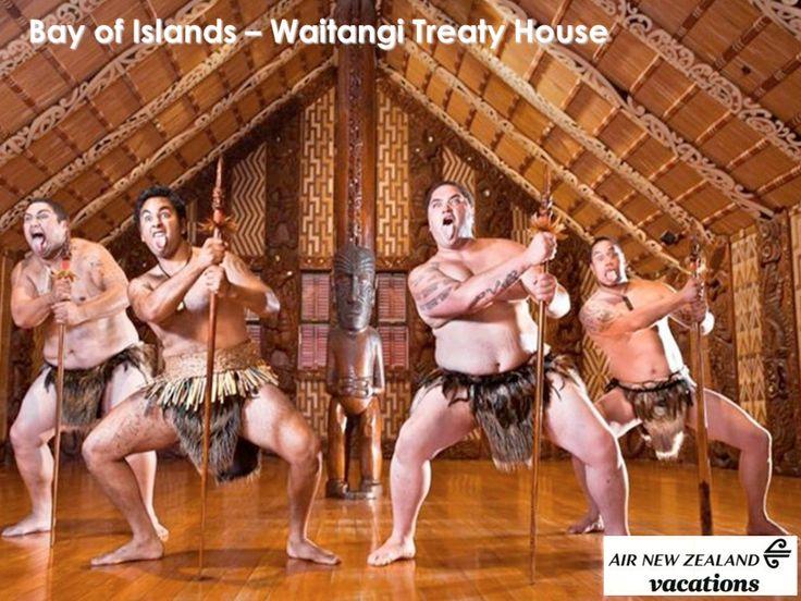 Bay of Islands:  Waitangi Treaty House.  Learn about the Maori culture.