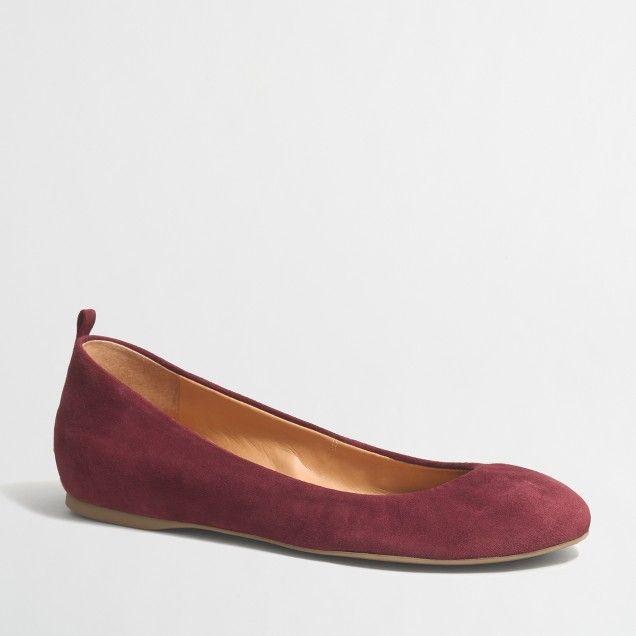 2016 Hot Sale John Lewis Microsuede Faux Fur Cuff Ballet Shoes Women Lilac AHAMH12