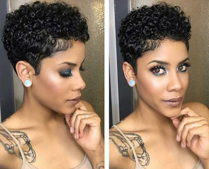 824 Best Images About Short Hairstyles For Black Women On