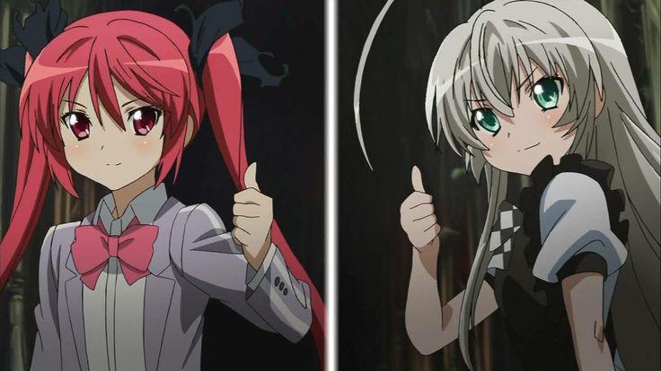 Nyaruko & Kuuko   Haiyore! Nyaruko-san