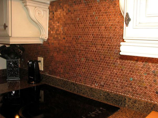 my penny backsplash kitchen designs decorating ideas