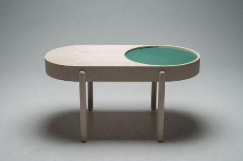"""designcube: """" Birk Coffee Table by Iselin Lindmark Dubland """" La mesa del café en versión contemporánea"""