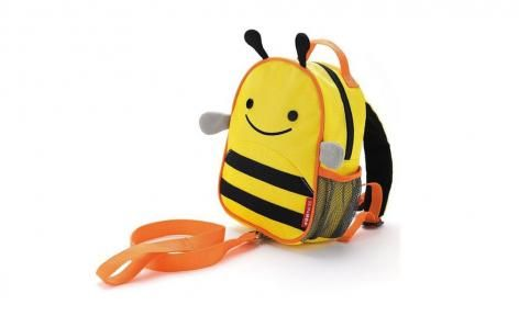 Bee Zoo Let Mini Backback with Rein by Skip Hop