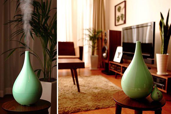 Mod humidifier...comes in several colors and can also add aromatherapy!