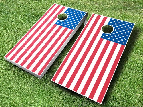 this is our american flag cornhole board set for sale at httpwww - Cornhole Boards For Sale