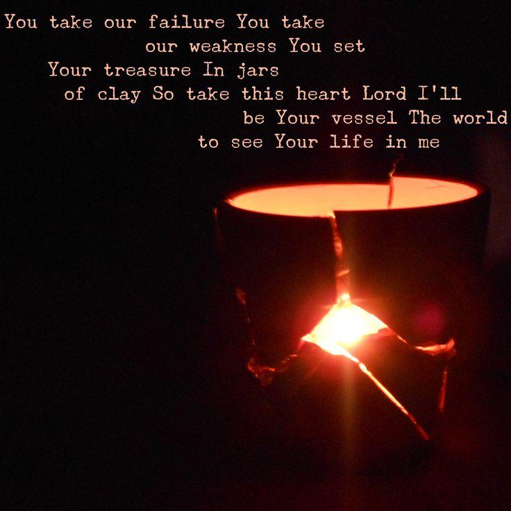 Light Shines Brighter Through Broken Vessels