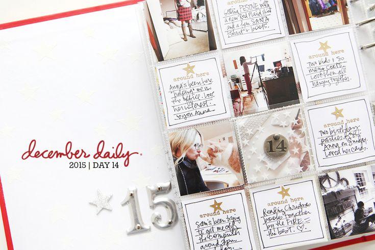 December Daily® 2015 | Day Fourteen