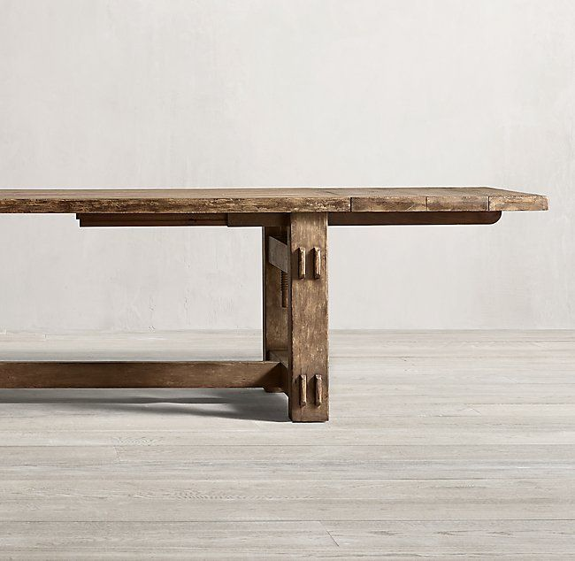 Vintage Italian Tannery Oak Dining Table Oak Dining Table