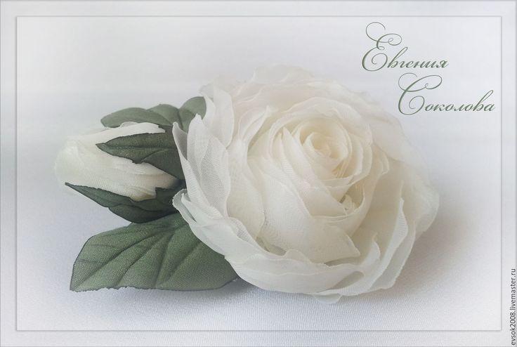 Купить Украшение в прическу Розы айвори - свадебные аксессуары, свадебное…