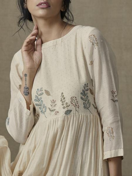 Botanical Tier Dress