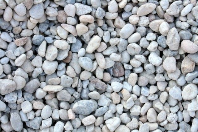 White Gravel Big Earth White Gravel Backyard Landscaping