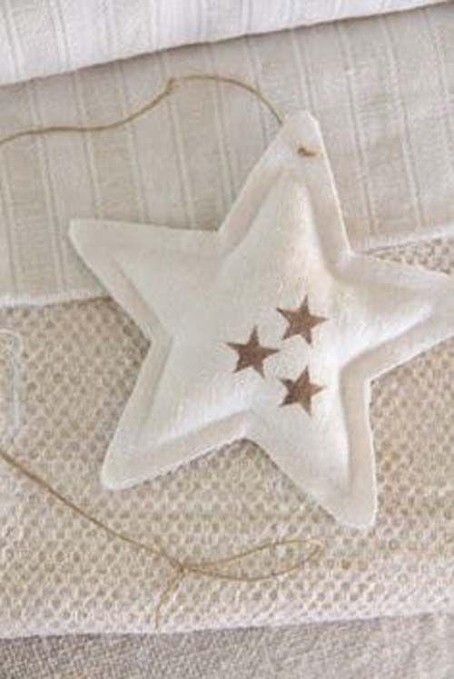 Moldes para hacer estrellas navideñas de tela gratis05