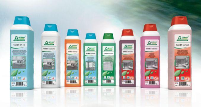 Nieuw, Tanet SR 15 milieuvriendelijk reinigingsmiddel