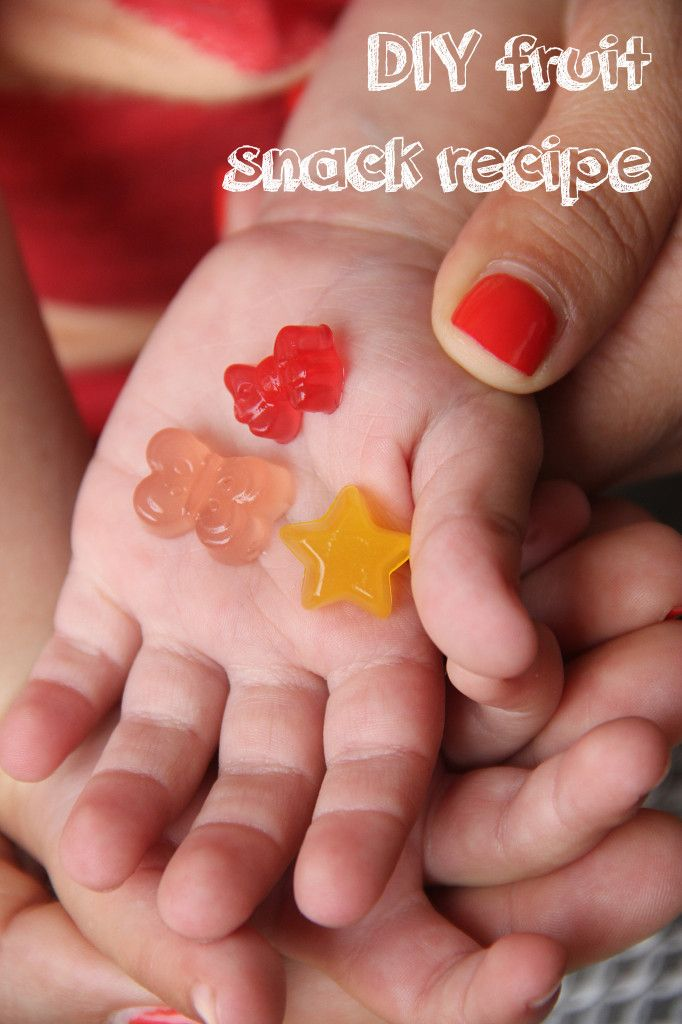 DIY Fruit Snacks… Easy as 1, 2, 3!