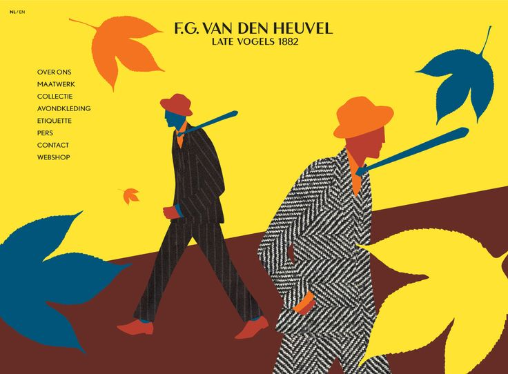 European Design - F.G. van den Heuvel, Agency: Andrea Friedli and Frederique Schimmelpenninck, Agency URL: http://www.frederiqueschimmelpenninck.nl, Category: 22. Corporate Illustration, Award: Silver, Year: 2014, Country: Netherlands, City: Amsterdam
