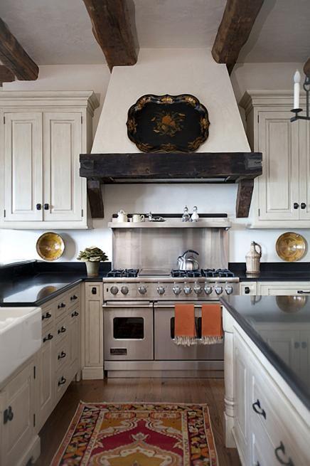 Spanish inspired kitchen