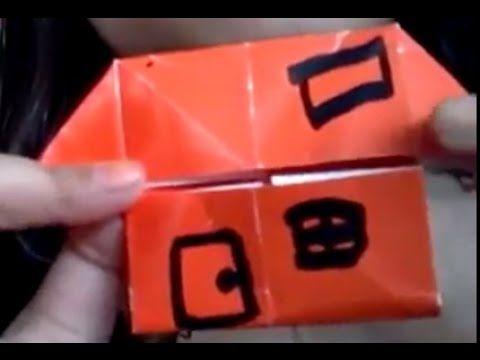 Cara Membuat Rumah-Rumahan Kertas Origami https://www.youtube.com/watch?v=PmyM_QJutBI