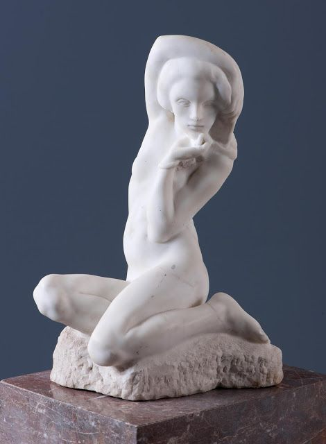 Le Prince Lointain: Jan Štursa (1880-1925), Melancholická dívka - 1906...