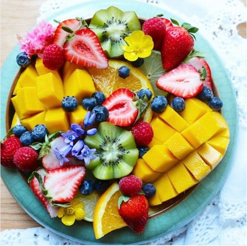 Plat de fruits