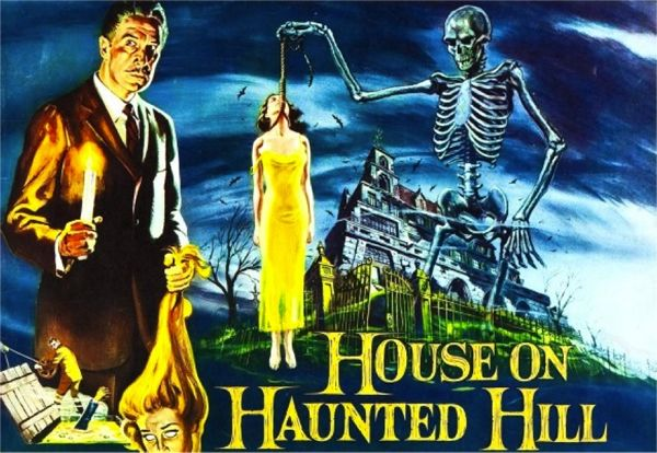 13 Fun and Scary Classic Halloween Films...  Halloween is without a doubt my favorite holiday. It's also my family's favorite holiday, so I grew up watching a variety of scary movies around the month of October. Here's my list of classic films that are perfect for getting in the Halloween spirit!  1.  House on Haunted Hill (1959)   2.