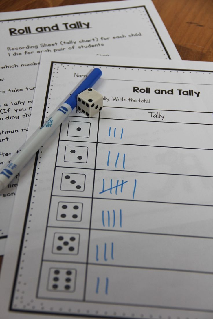 Make guided math easy for the teacher! Try this tally mark unit for lots of games and student practice!