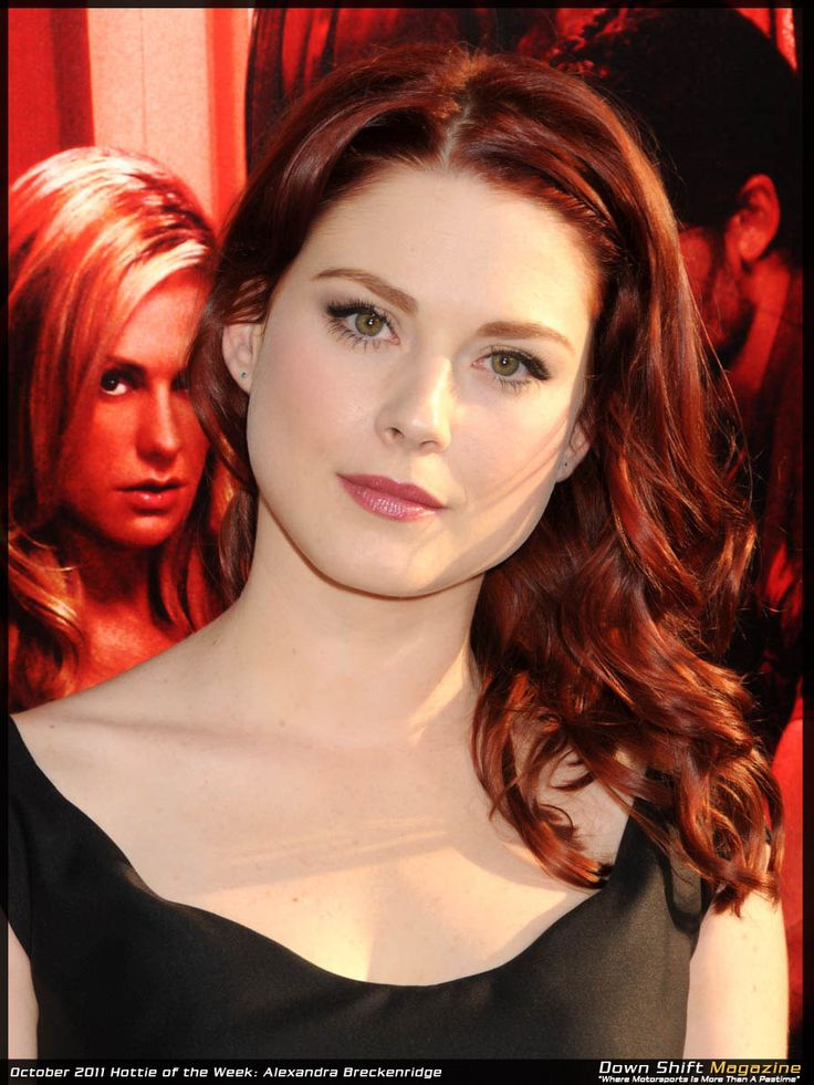 Hottie of the Week: Alexandra Breckenridge