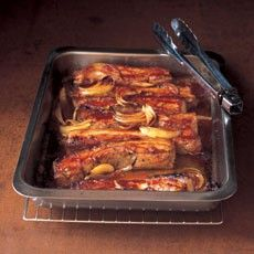 Belly Pork Strips in Barbecue Sauce - trying this for an easy family tea tonight