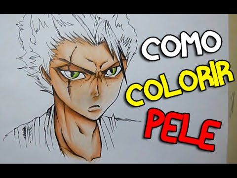 Marlon Desenhos - Como Colorir Pele