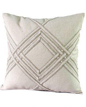 "14 Karat Home ""Sandy"" Decorative Pillow"