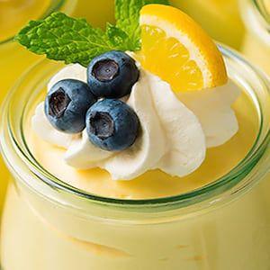 Mousse de limón: delicioso y refrescante