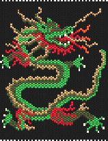 Chinese Dragon by Charley Hughes AKA BeadyBoop