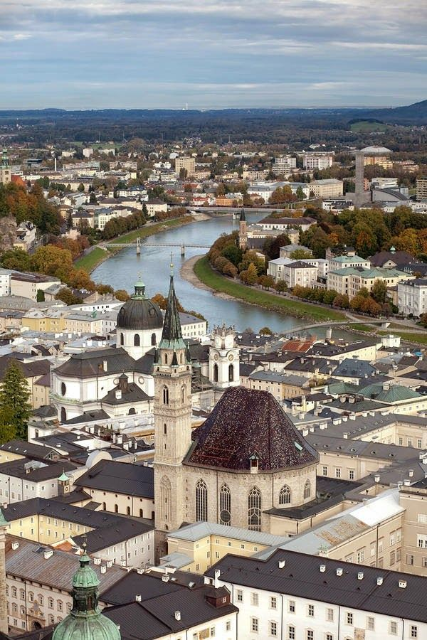 Salzburg, Austria- Traveled here when I was 17 years old. Visited Mozart's home and museum.