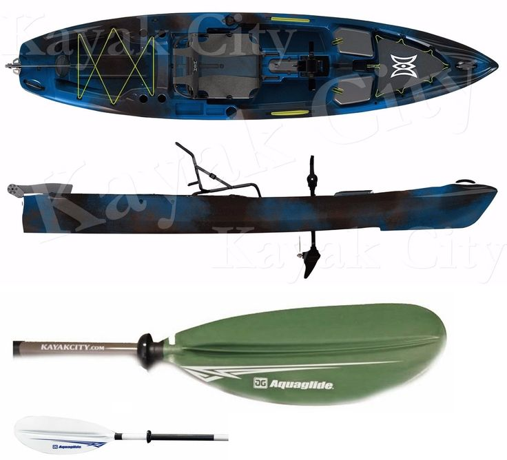 Kayaks 36122: 2017 Perception Pescador Pilot 12.0 Pedal Kayak W Updated Drive And Free Paddle -> BUY IT NOW ONLY: $1799 on eBay!