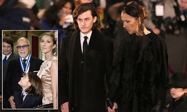 Celine Dion's son's moving eulogy to his father René Angélil