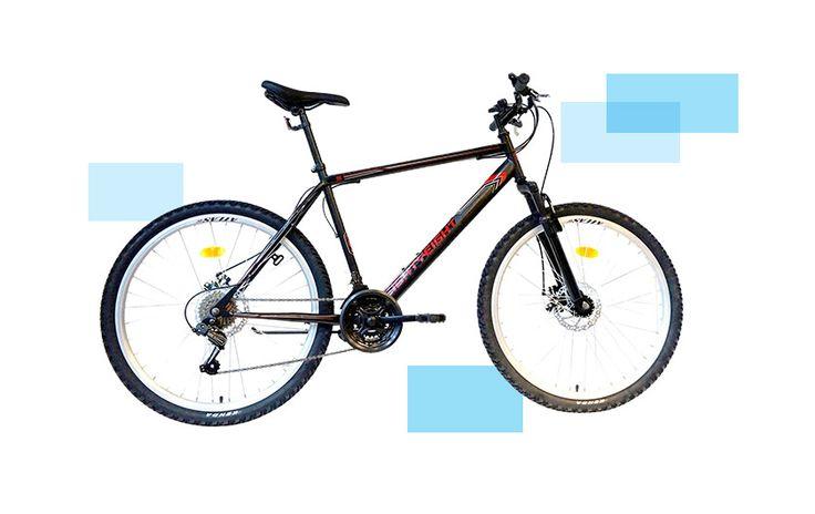 Велосипед MTB 26 EightyEight, Размер на рамката L, Черен/Червен. Безплатна доставка. Цена:239.99лв.  ---> http://profitshare.bg/l/358344