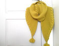 Winter is coming...et pas qu'un peu, alors on dégaine ses aiguilles et on se met aux écharpes! Voici donc la deuxième écharpe tricotée pour...