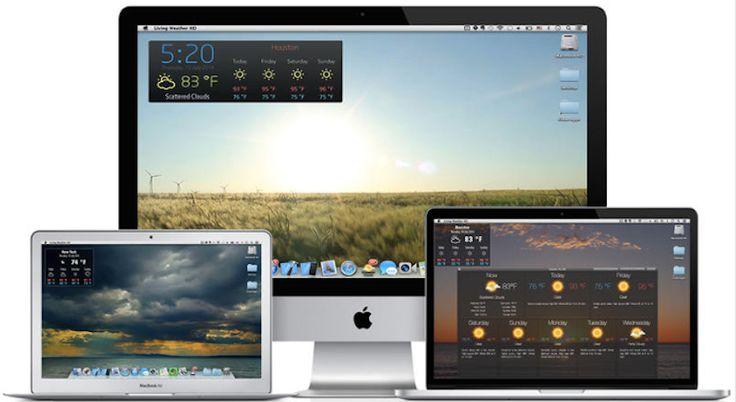 Tiempo HD: Predicción meteorológica en tu Mac - http://www.soydemac.com/2014/11/21/tiempo-hd-prediccion-meteorologica-7-dias/