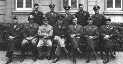 General Eisenhower and his Generals