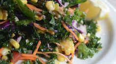 Ted's kale salad  I LOVE this salad - just thinking about it makes me smile. I'm excited to find the recipe.
