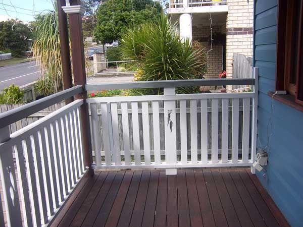 Timber Balustrade For Deck