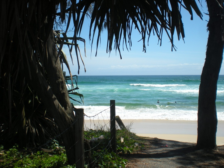 Kingscliffe Beach, Northern New South Wales by Andrea George