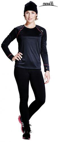 max-Q.com Damen Laufoutfit Herbst / Winter  #max-Q.com #Laufbekleidung #Laufoutfit #21runcom